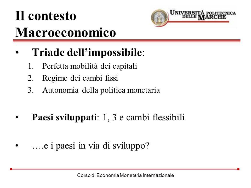 Il contesto Macroeconomico
