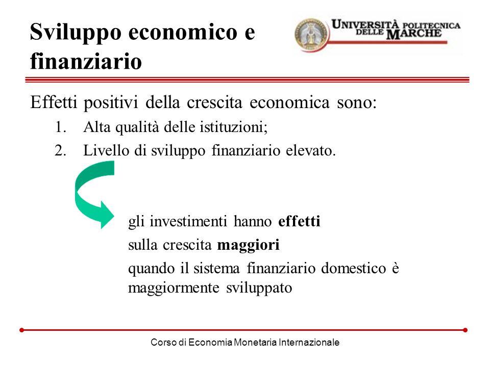 Sviluppo economico e finanziario