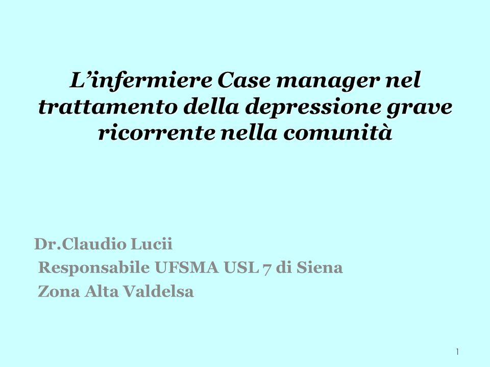 Responsabile UFSMA USL 7 di Siena Zona Alta Valdelsa