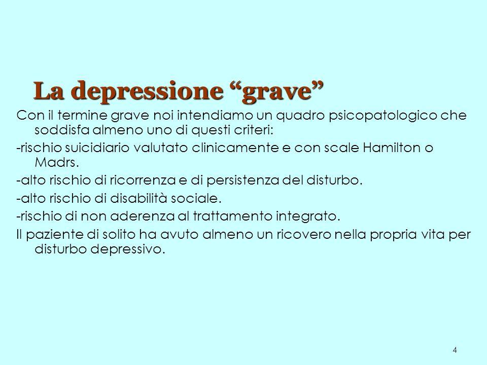 La depressione grave