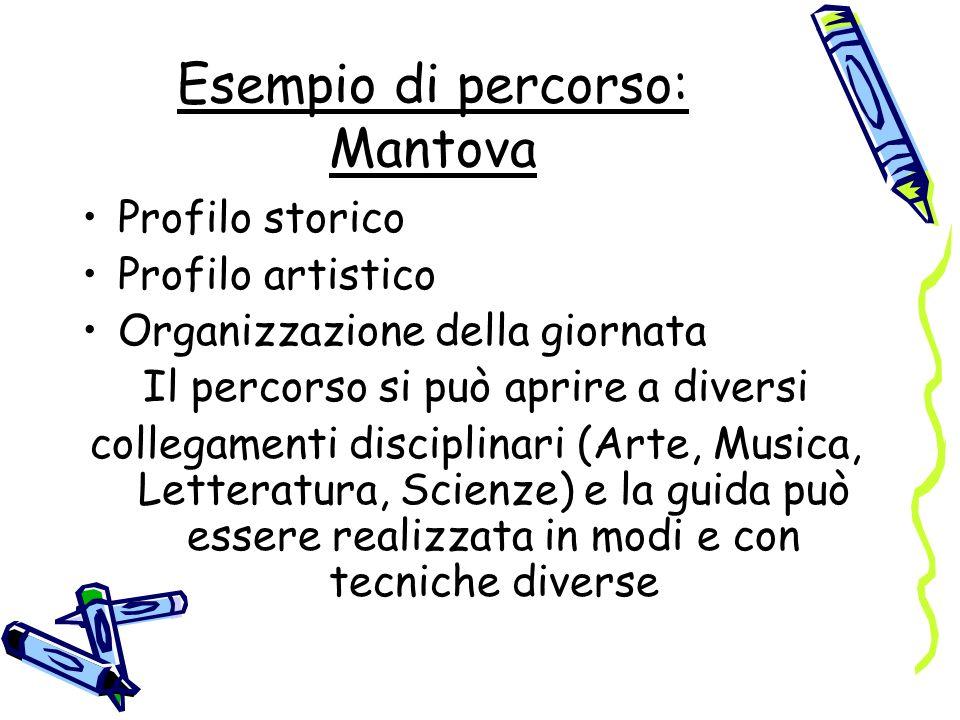 Esempio di percorso: Mantova