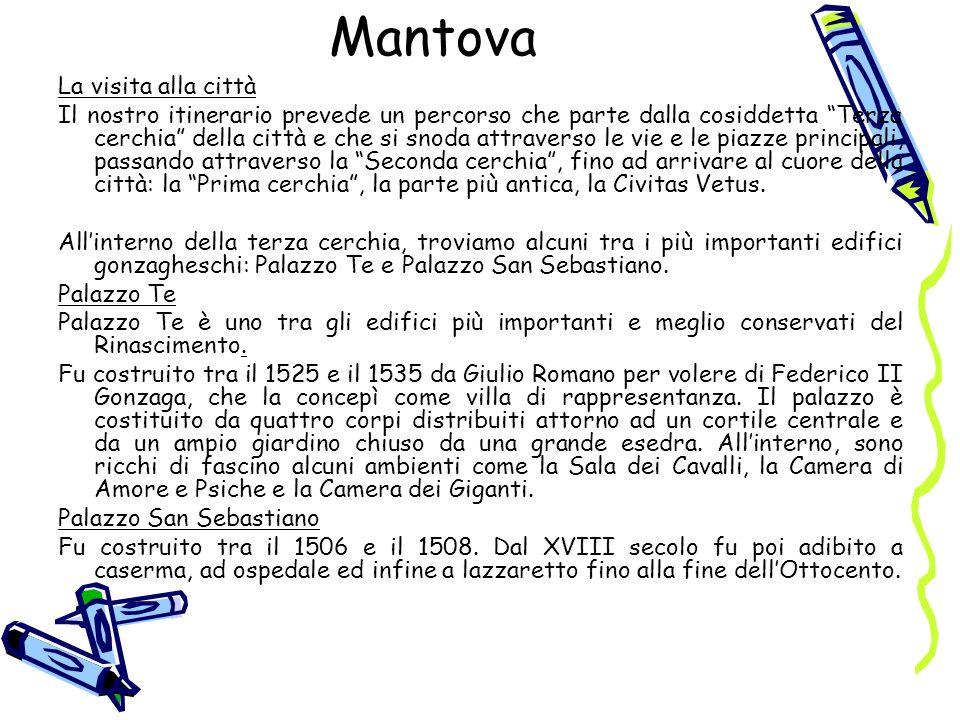 Mantova La visita alla città