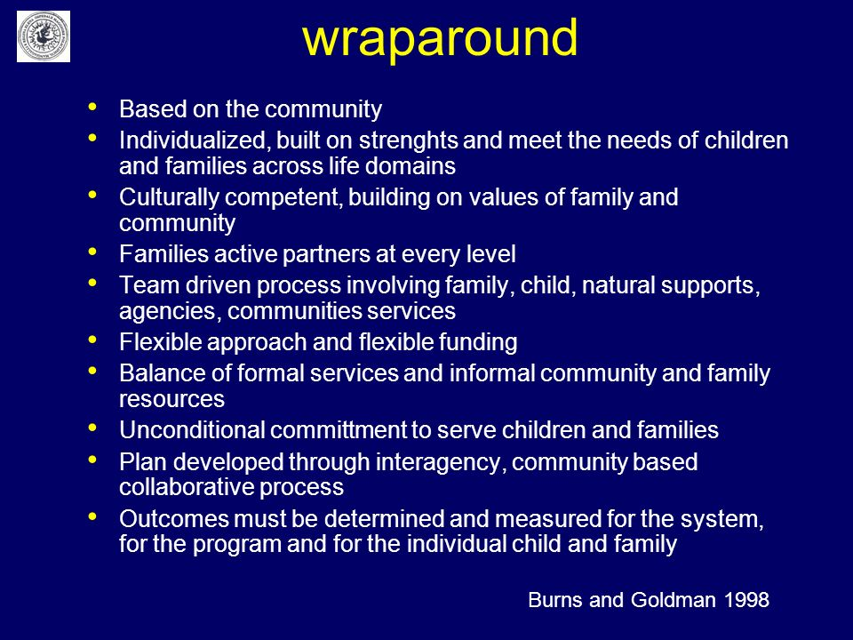 wraparound Based on the community