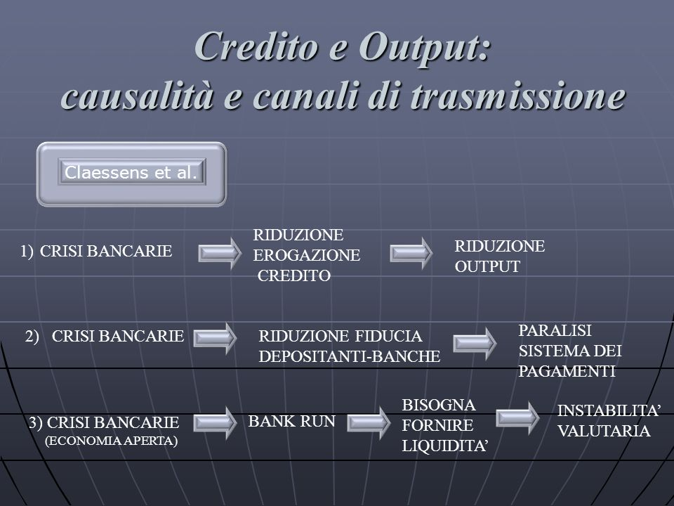 causalità e canali di trasmissione