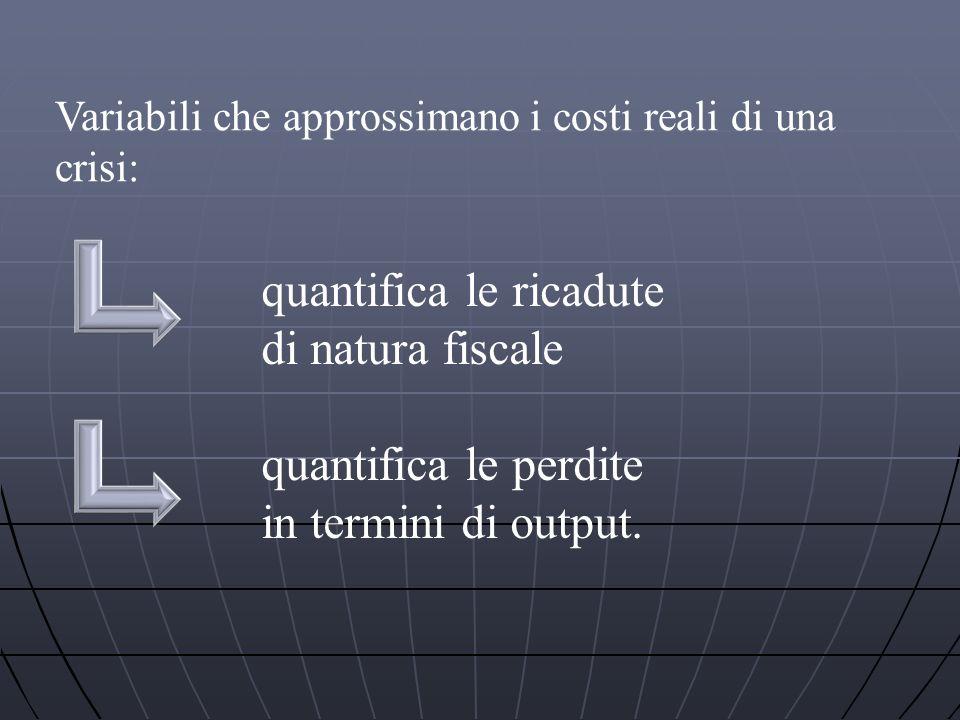 quantifica le ricadute di natura fiscale