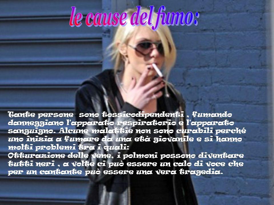 le cause del fumo: