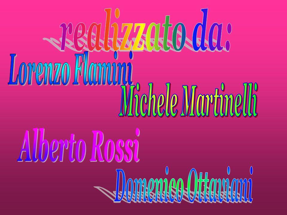 realizzato da: Lorenzo Flamini Michele Martinelli Alberto Rossi Domenico Ottaviani