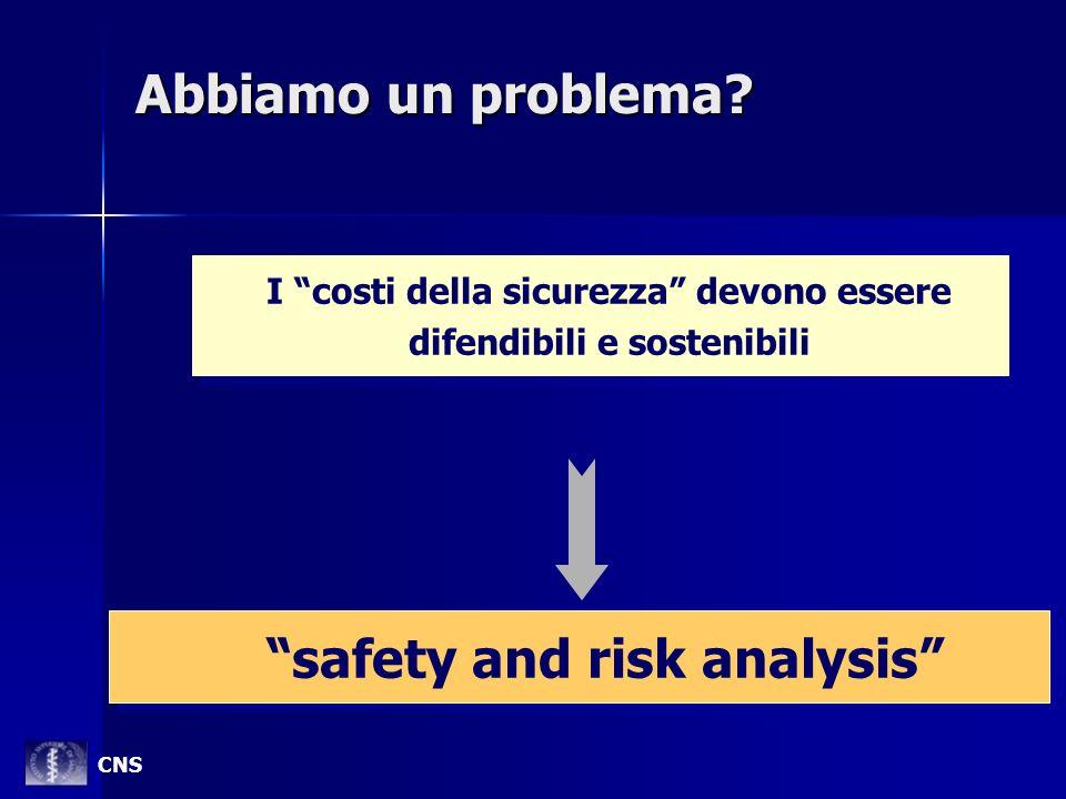 I costi della sicurezza devono essere difendibili e sostenibili