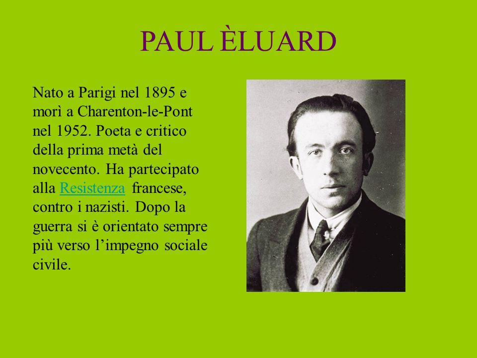 PAUL ÈLUARD