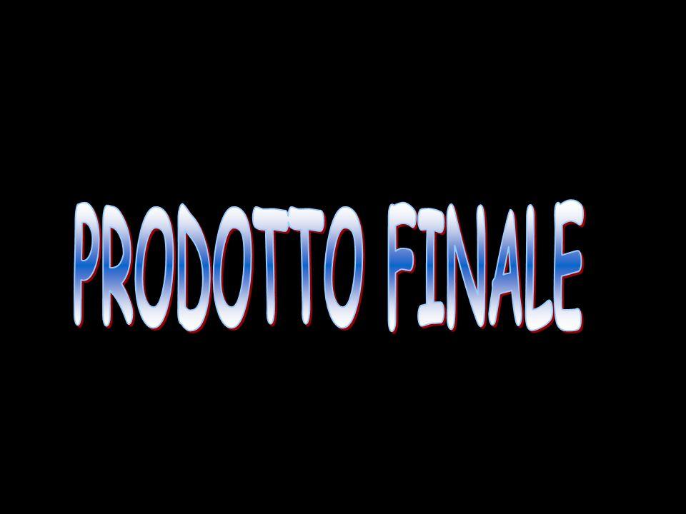 PRODOTTO FINALE