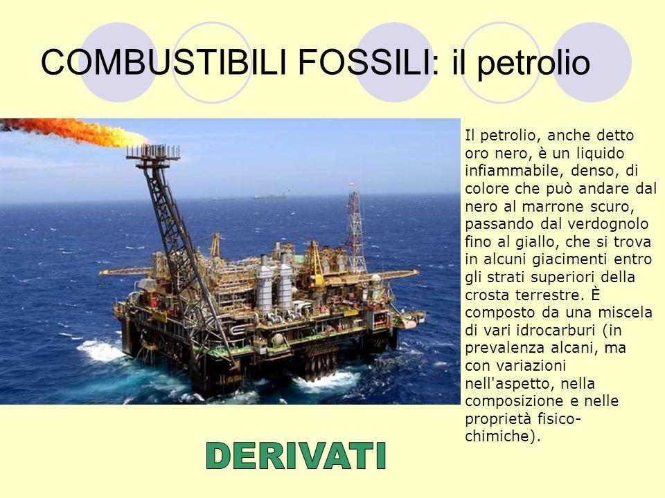 COMBUSTIBILI FOSSILI: il petrolio