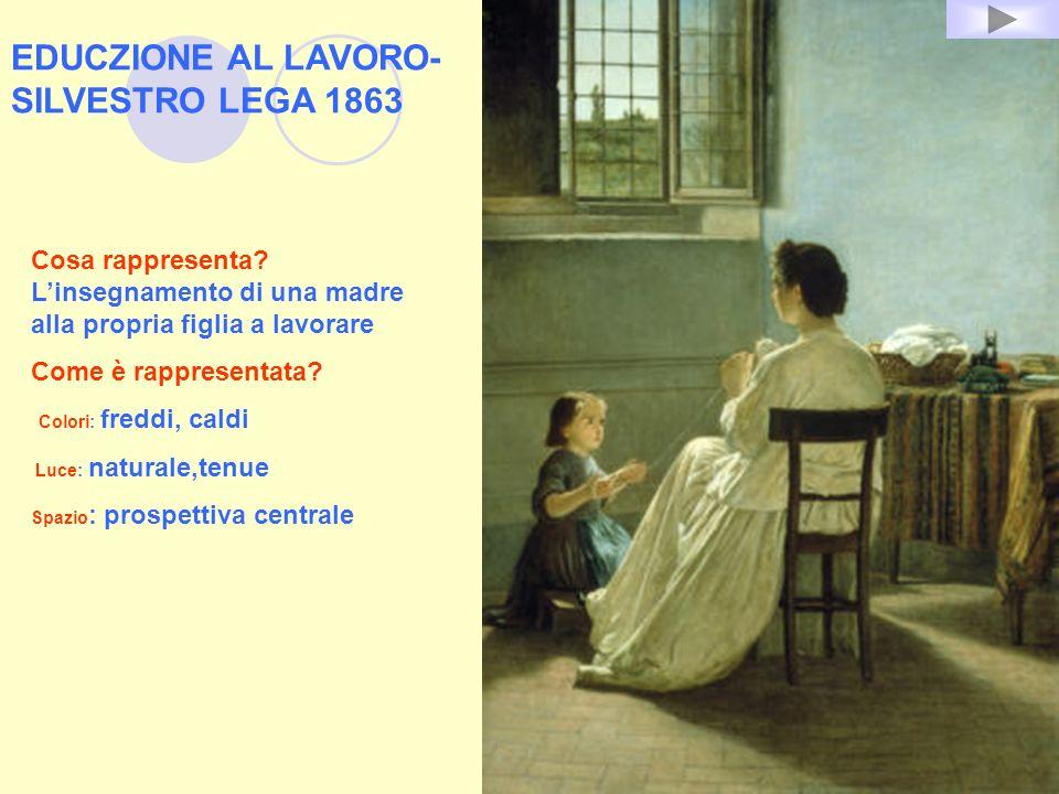 EDUCZIONE AL LAVORO- SILVESTRO LEGA 1863