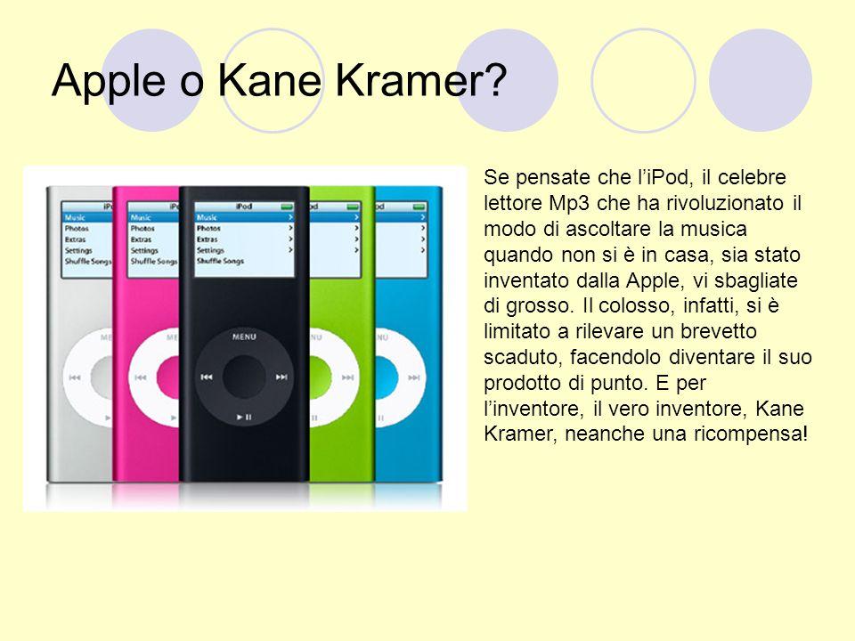 Apple o Kane Kramer