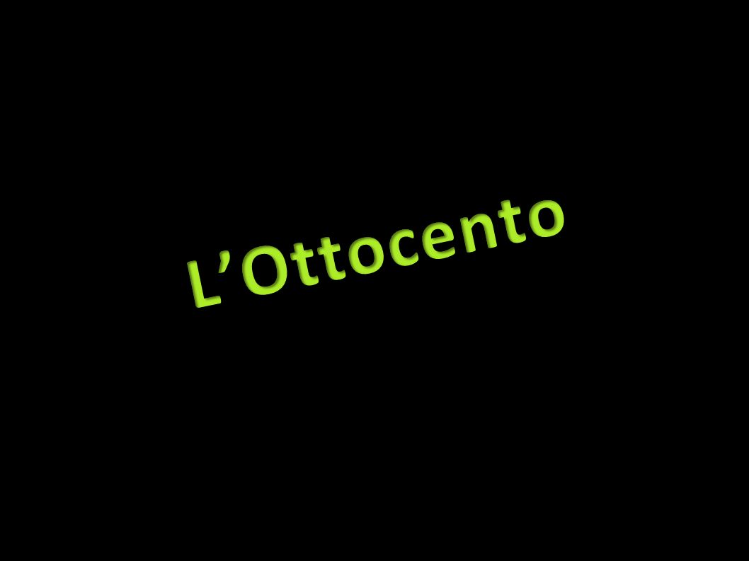 L'Ottocento