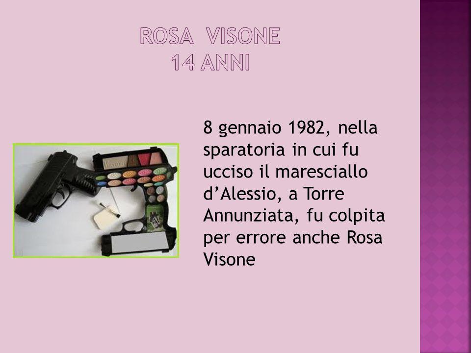 ROSA VISONE 14 ANNI
