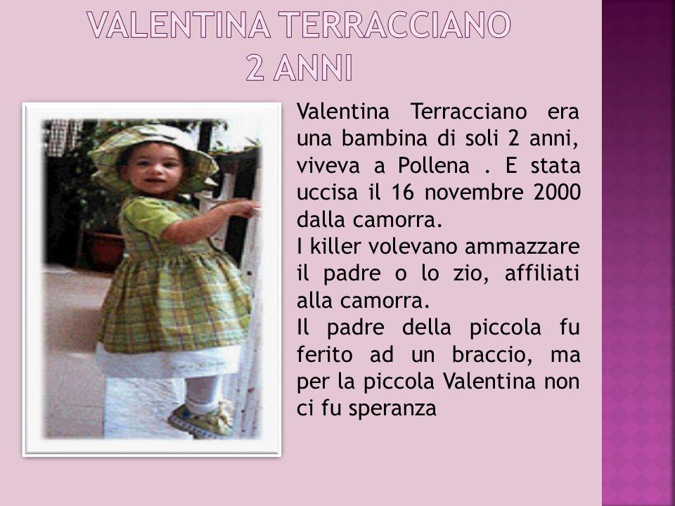 VALENTINA TERRACCIANO 2 ANNI