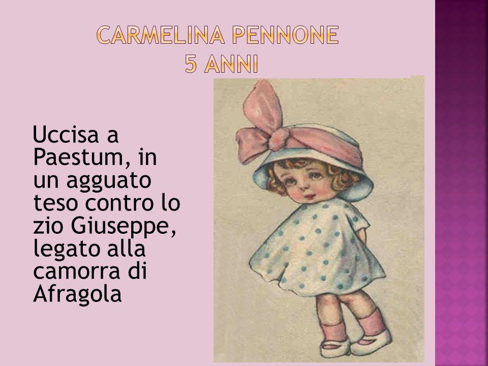 Carmelina Pennone 5 anni