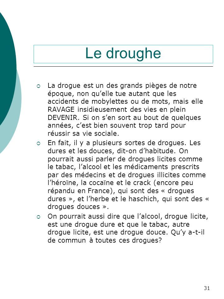 Le droughe