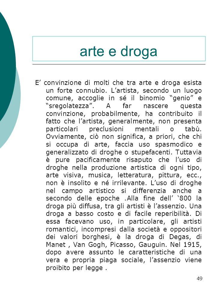arte e droga