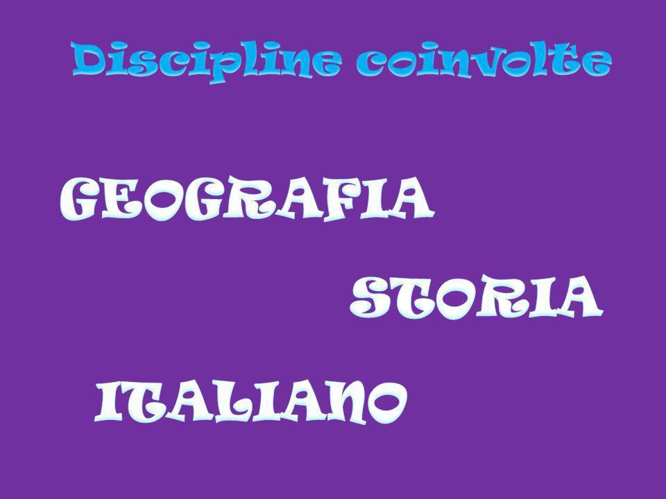 GEOGRAFIA STORIA ITALIANO
