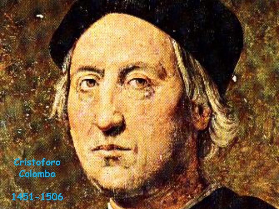 Cristoforo Colombo 1451-1506