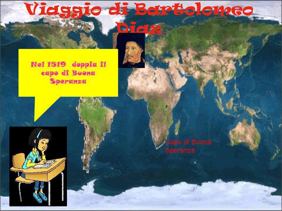 Viaggio di Bartolomeo Diaz