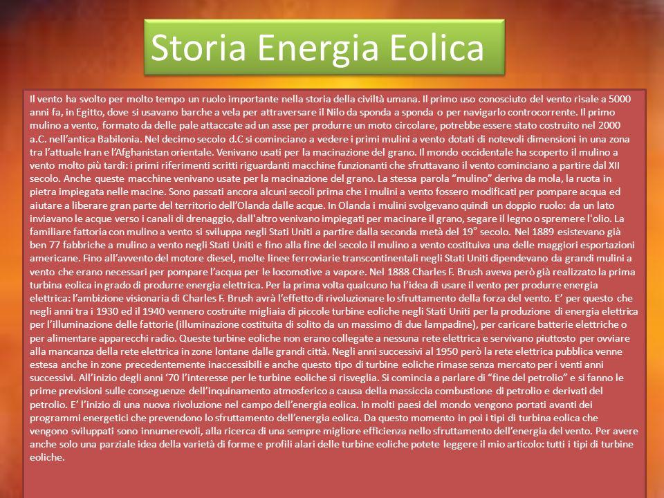 Storia Energia Eolica