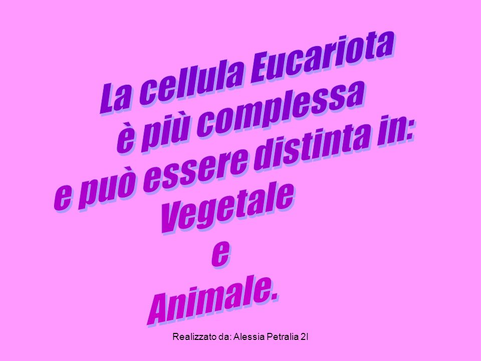 e può essere distinta in: Vegetale e Animale.