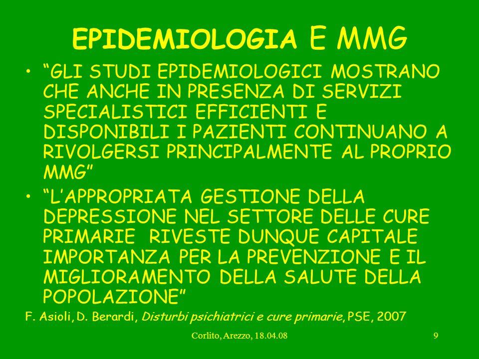 EPIDEMIOLOGIA E MMG