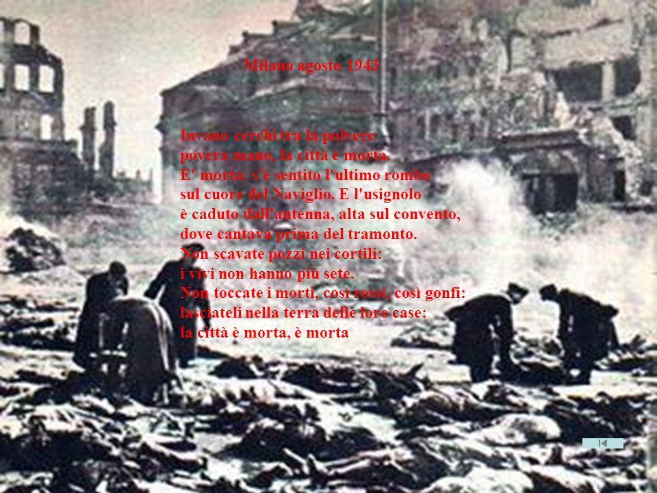 Milano agosto 1943