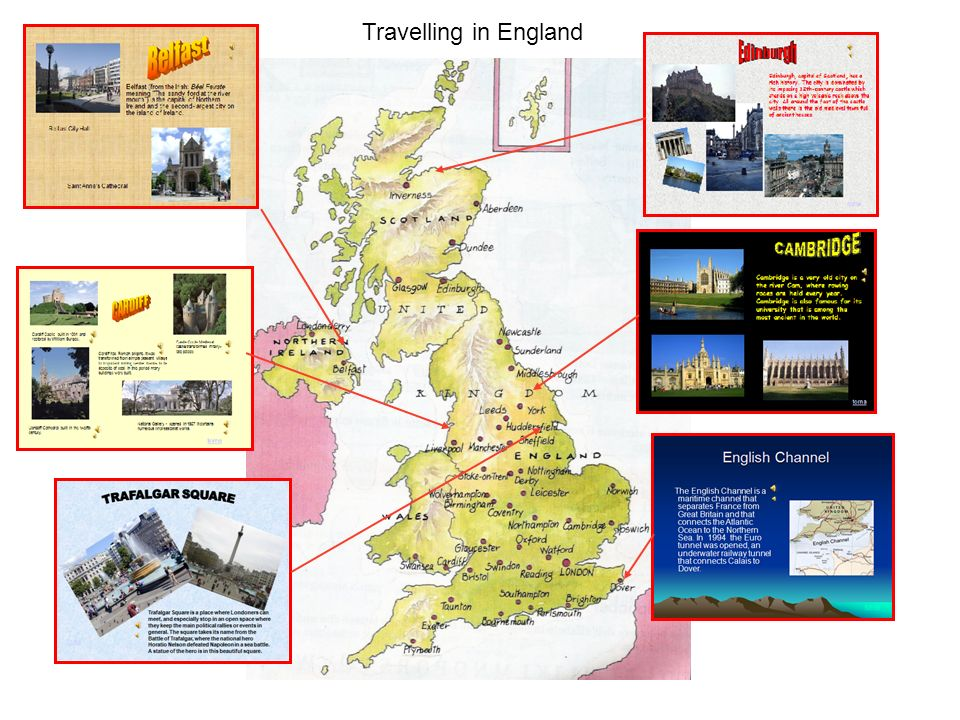 Travelling in England Inglese