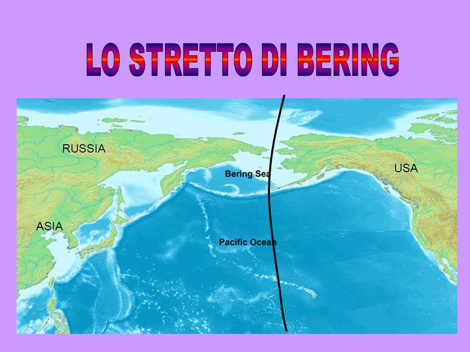 LO STRETTO DI BERING RUSSIA USA ASIA