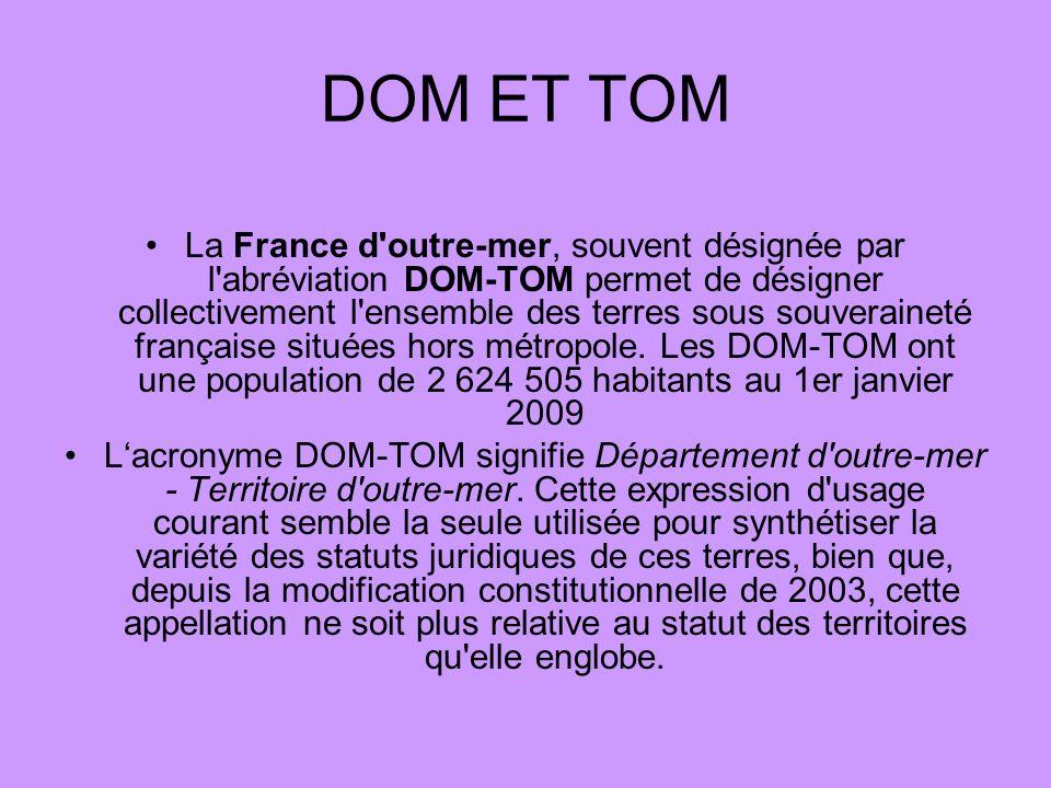DOM ET TOM