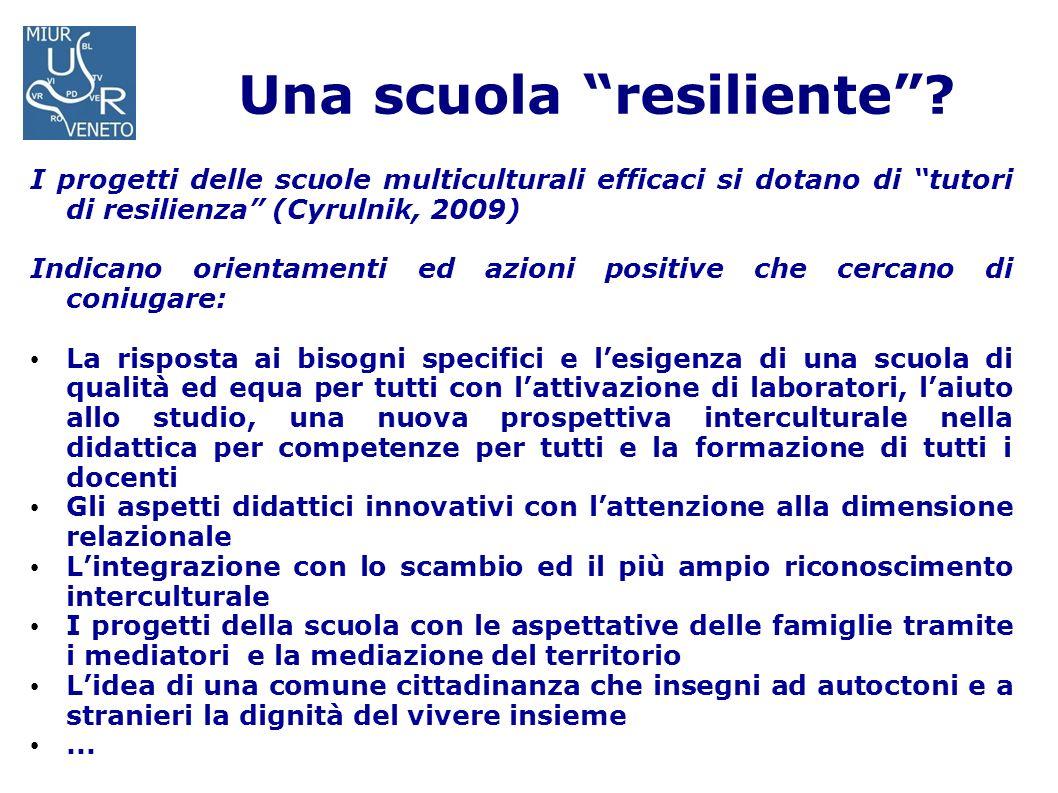 Una scuola resiliente