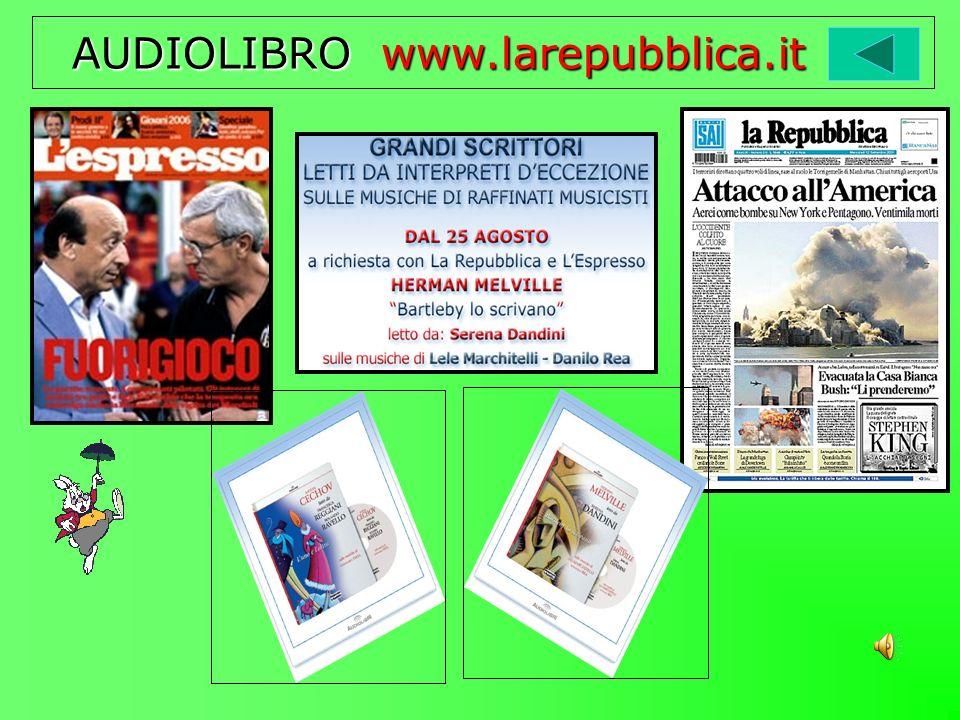 AUDIOLIBRO www.larepubblica.it