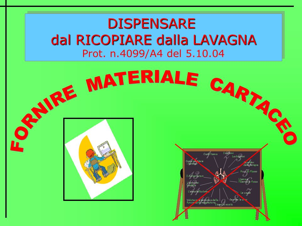 FORNIRE MATERIALE CARTACEO