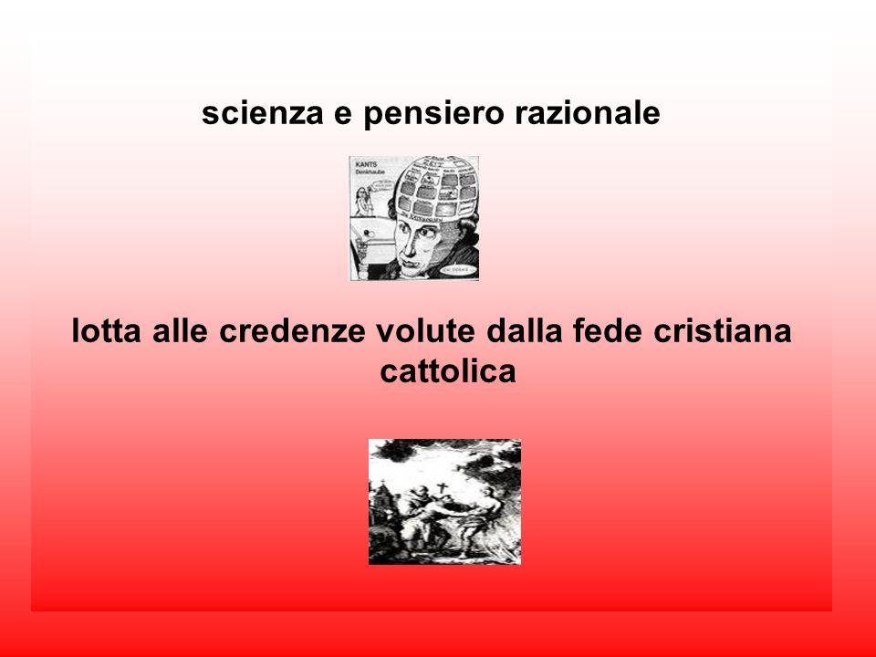 scienza e pensiero razionale