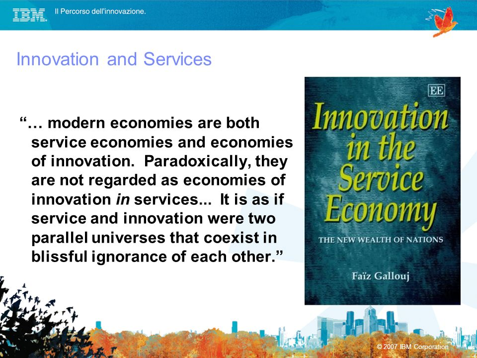 Innovation and Services