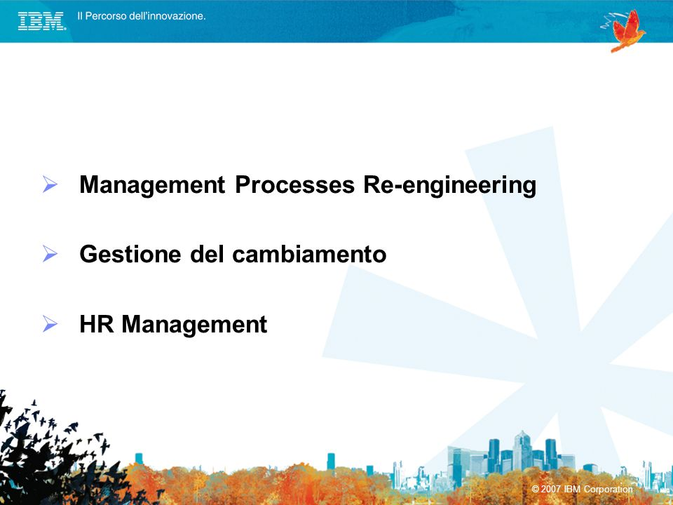Management Processes Re-engineering