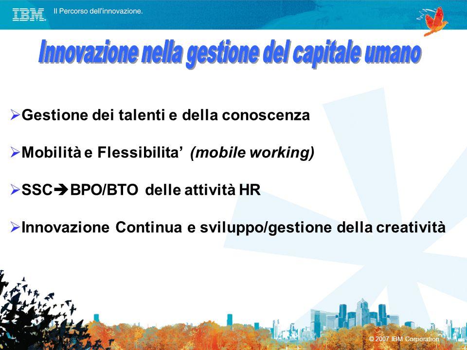 Innovazione nella gestione del capitale umano