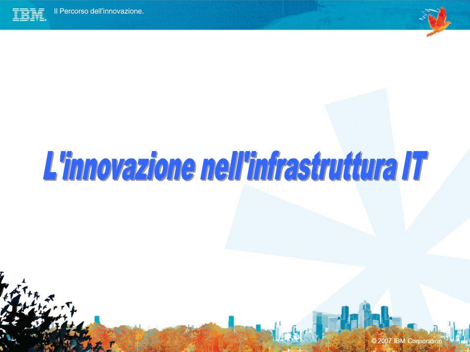 L innovazione nell infrastruttura IT