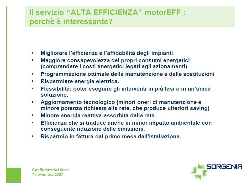 Il servizio ALTA EFFICIENZA motorEFF : perchè è interessante