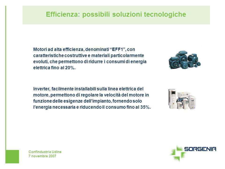 Efficienza: possibili soluzioni tecnologiche