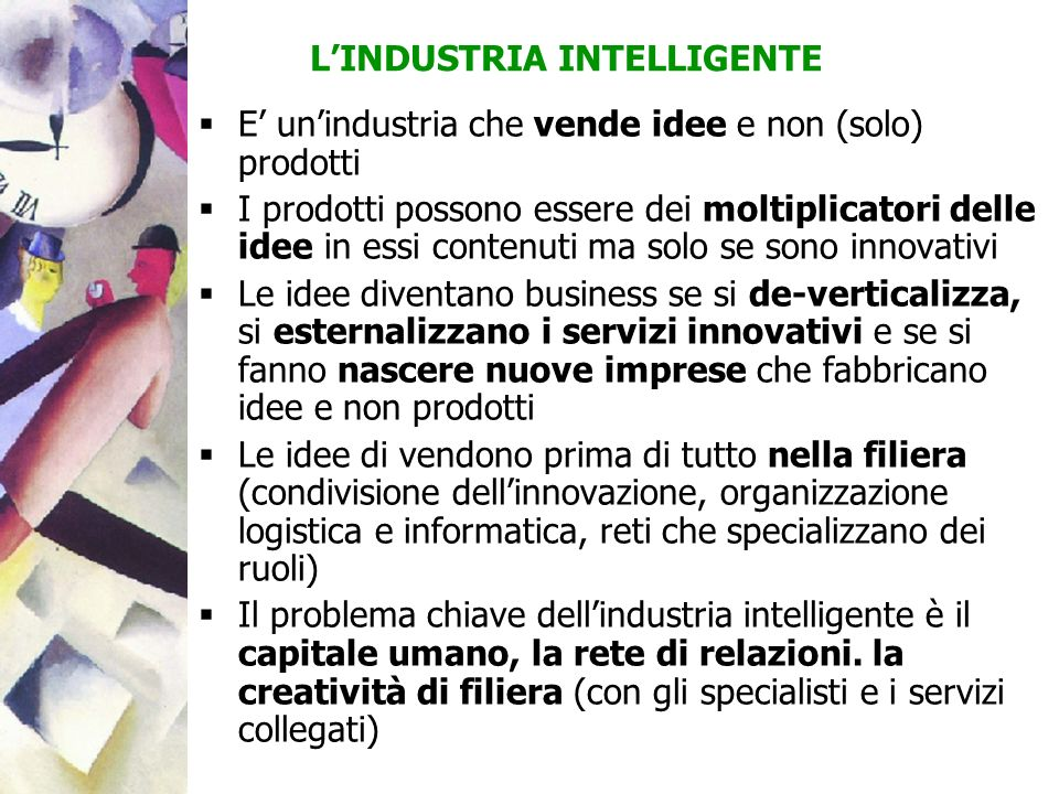 L'INDUSTRIA INTELLIGENTE