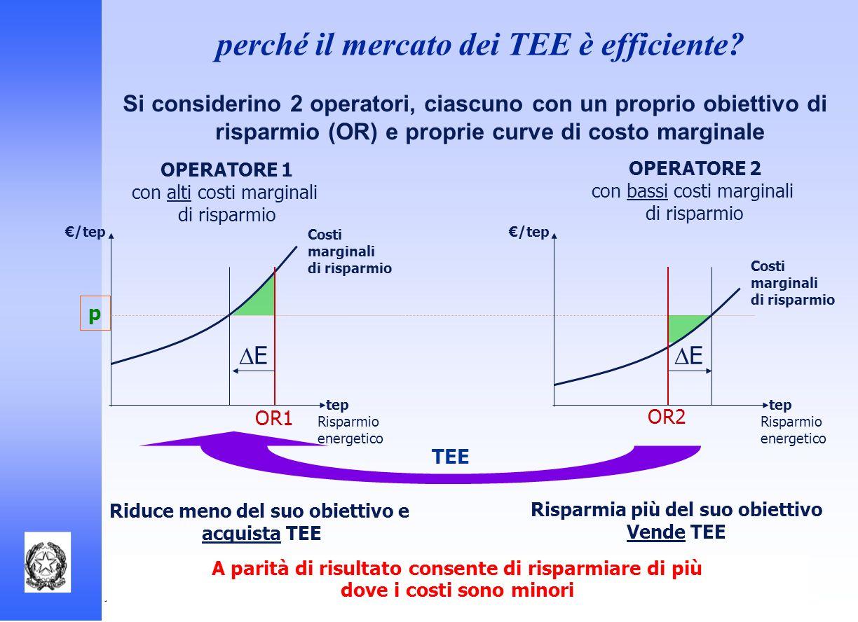 perché il mercato dei TEE è efficiente