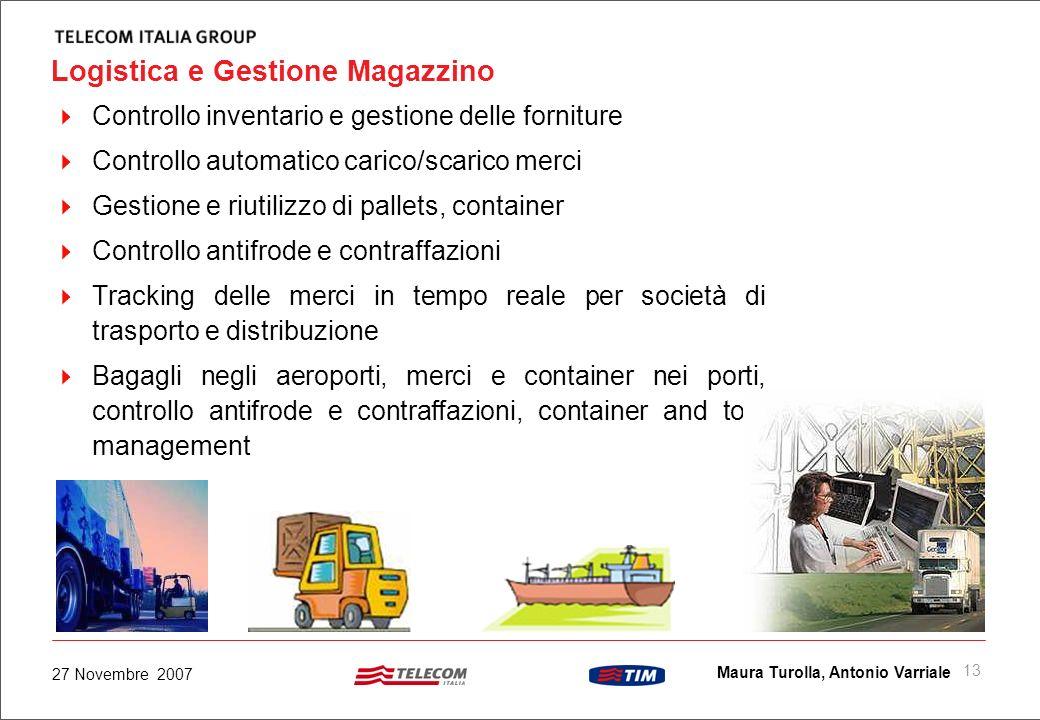 Logistica e Gestione Magazzino