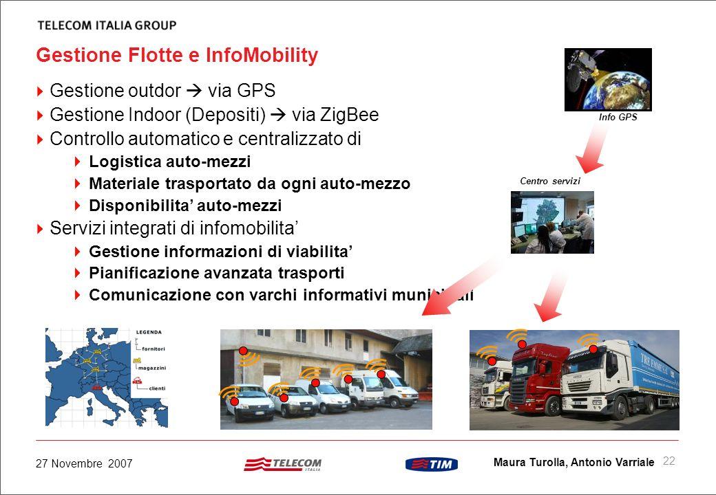 Gestione Flotte e InfoMobility