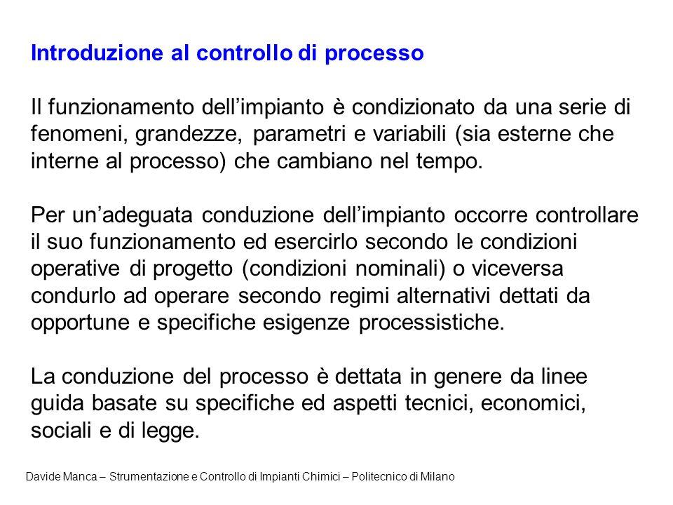 Introduzione al controllo di processo
