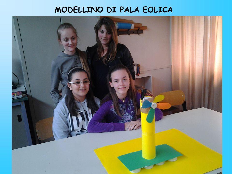 MODELLINO DI PALA EOLICA