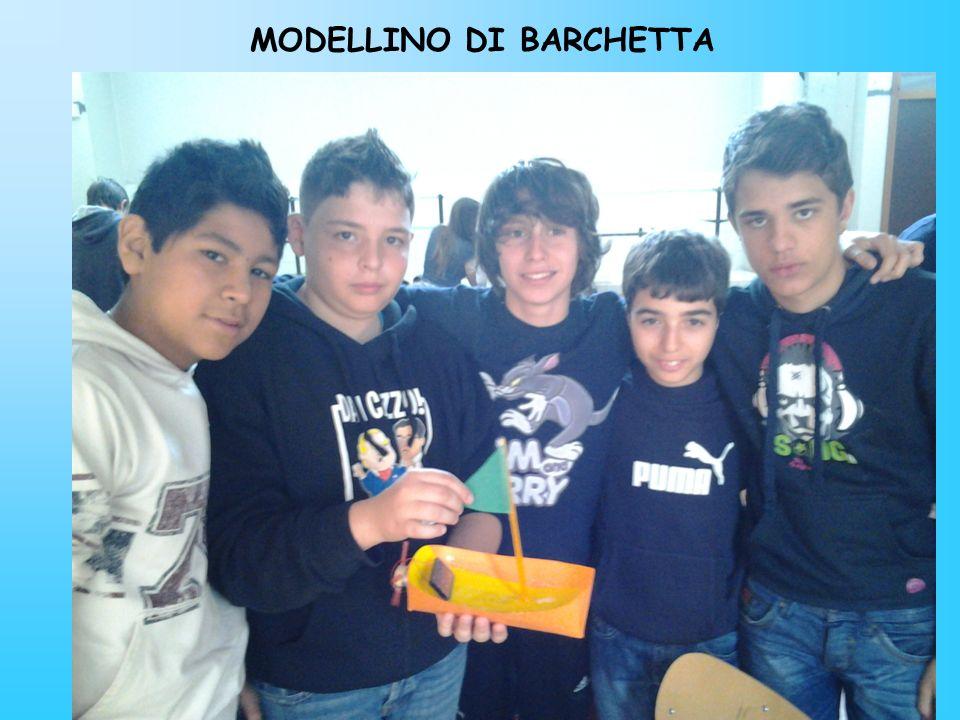 MODELLINO DI BARCHETTA